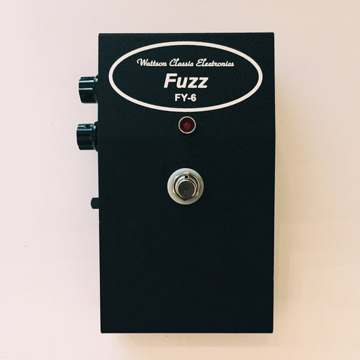 Wattson FX FY-6 Superfuzz Pedal Large Enclosure