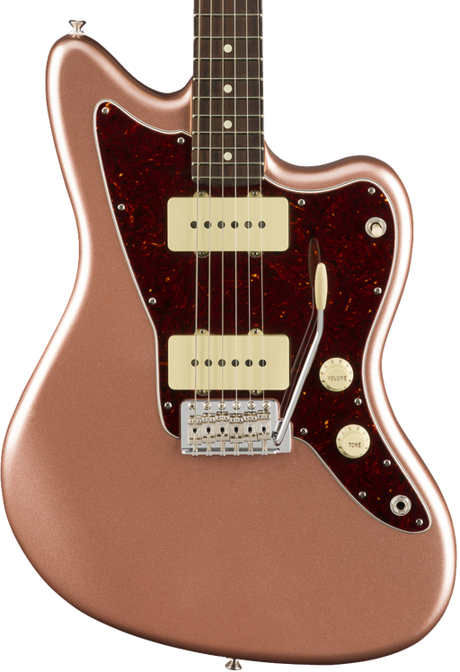 Fender American Performer Jazzmaster Rosewood Fingerboard - Penny with Case