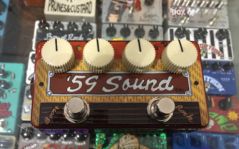 Zvex USA Made Hand Painted '59 Sound Overdrive Guitar Pedal USA Made