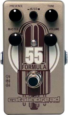 Catalinbread Formula No. 55 Overdrive Guitar Effect Pedal