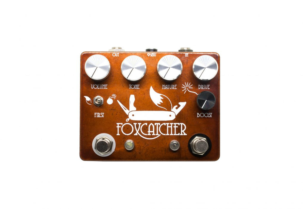 Coppersound Effect Pedals Foxcatcher Boost Overdrive Guitar Effect Pedal