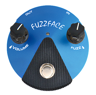 MXR FFM1 Silicon Fuzz Face Mini Distortion Guitar Pedal