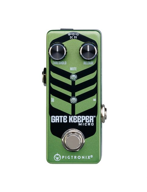 Pigtronix Gatekeeper Micro Noise Gate Guitar Effect Pedal