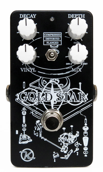 Keeley Gold Star Reverb Guitar Effect Pedal
