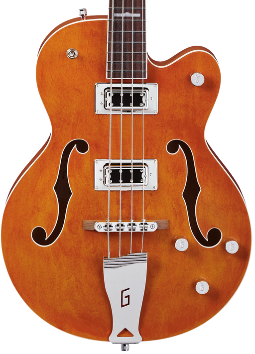 Gretsch G5440LSB Electromatic Hollow Body Long-Scale Bass - Orange