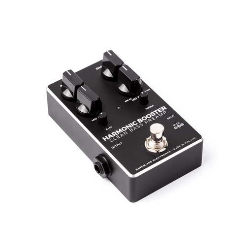 Darkglass Electronics Harmonic Booster: Clean Bass Preamp Effect Pedal