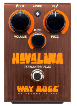 Way Huge WHE403 Havalina Germanium Fuzz Pedal