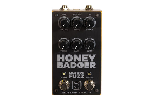 Redbeard Effects Honey Badger Octave Fuzz Guitar Effect Pedal IN STOCK!!