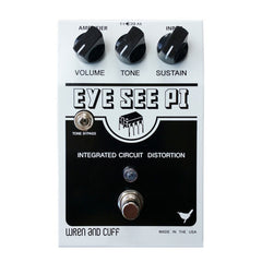 Wren and Cuff Eye See Pi Distortion Fuzz Guitar Effect Pedal