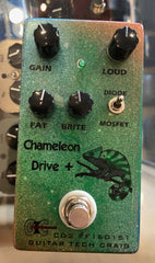 Used Guitar Tech Craig Chameleon Drive Plus Guitar Effect Pedal