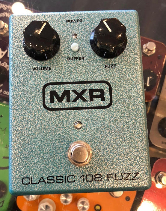Used Dunlop MXR Classic 108 Fuzz Guitar Effect Pedal