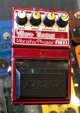 Used DOD Vibro Thang Vibrato/Phasor FX22 Guitar Effect Pedal