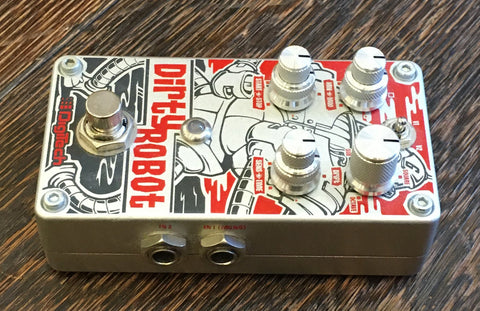 Used Daredevil Pedals Atomic Clock Guitar Effect Pedal