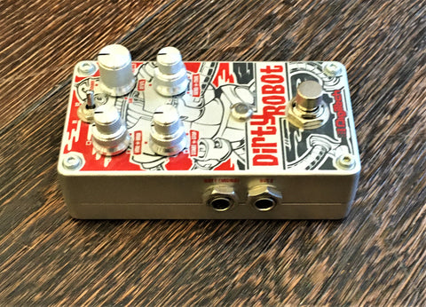 Used Hungry Robot Pedals The Wash Tap Tempo Delay Guitar Effect Pedal