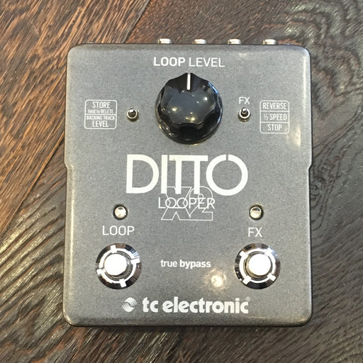 Used TC Electronic Ditto X2 Looper Guitar Effect Pedal