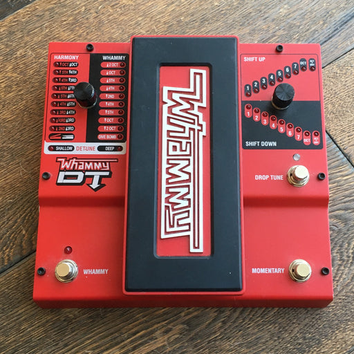 Digitech Whammy DT Pitch-Shift Harmonizer Guitar Effect Pedal With Adapter