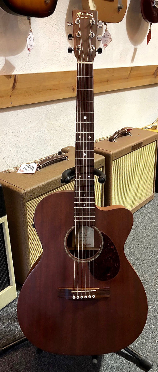 Used Martin OMC-15E Cutaway Orchestra Model Acoustic Electric Guitar With HSC