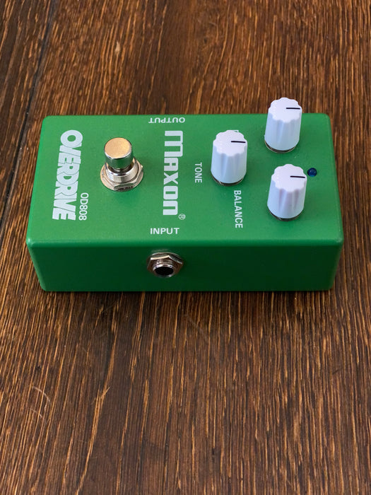 Used Limited Edition Keeley Modified Maxon OD808 Max Gain 40th Anniversary Overdrive Only 400 Made!