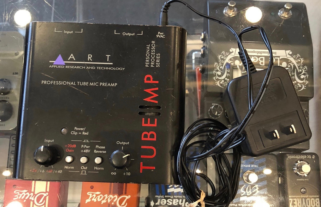 Used Applied Research Technology ART Tube Mic Preamp
