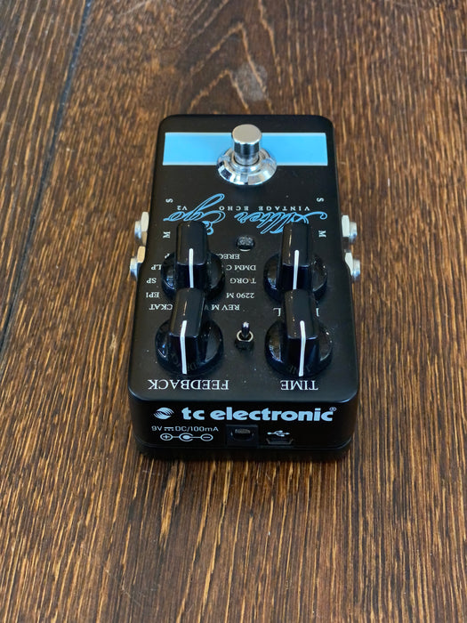 Used TC Electronic Alter Ego Vintage Echo V2 Delay Guitar Effect Pedal