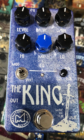 Menatone The King Overdrive Guitar Effect Pedal Small