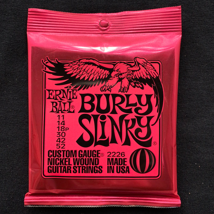 Ernie Ball 2226 Burly Slinky Nickel Wound Electric Guitar Strings