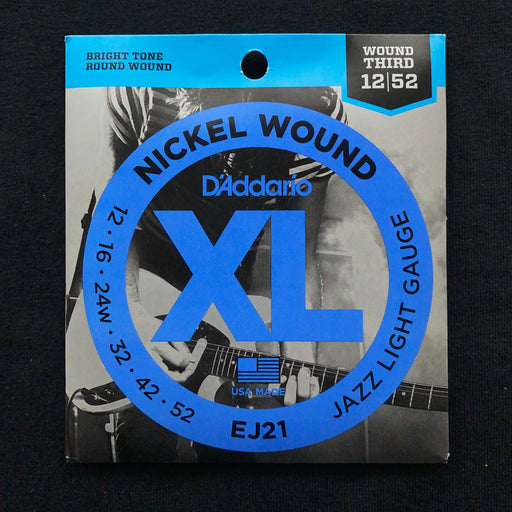 D'Addario EJ21 Set Electric Guitar XL Jazz Light Strings
