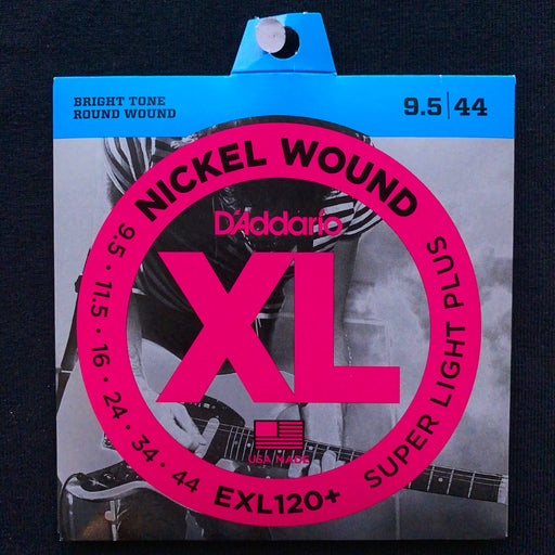 D'Addario EXL120+ Set Electric Guitar XL Super Light Plus Strings