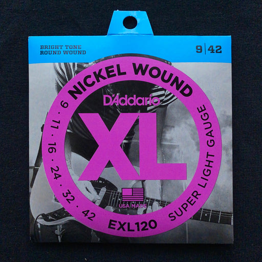 D'Addario EXL120 Set Electric Guitar XL Super Light Strings