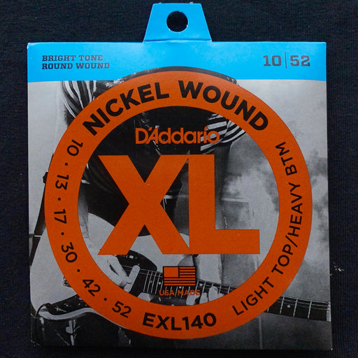 D'Addario EXL140 Set Electric Guitar XL Light/ Heavy Bottom Strings
