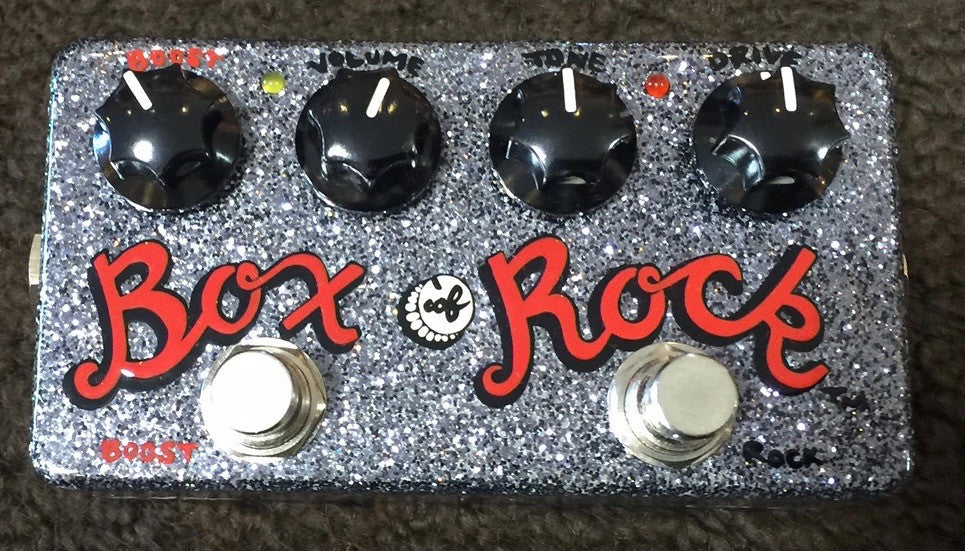 Zvex USA Made Handpainted ONE OF A KIND Box Of Rock Overdrive Guitar Pedal