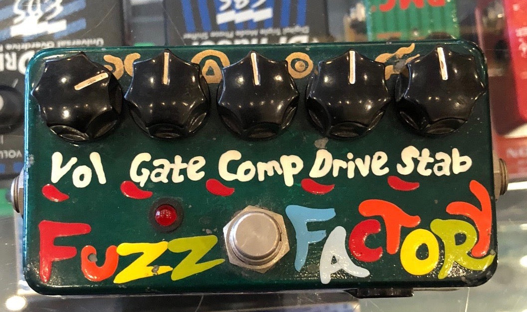 Used Zvex Fuzz Factory With LED and 9v Jack Guitar Effect Pedal