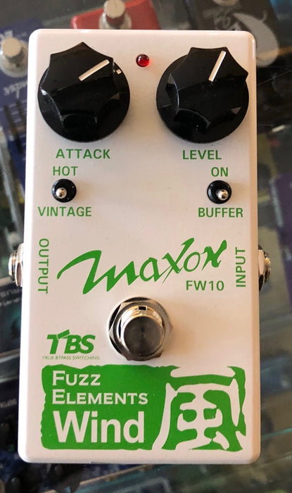 Used Maxon Fuzz Elements Wind FW10 Guitar Effect Pedal