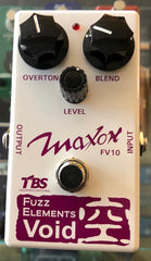 Used Maxon Fuzz Elements Void FV10 Guitar Effect Pedal