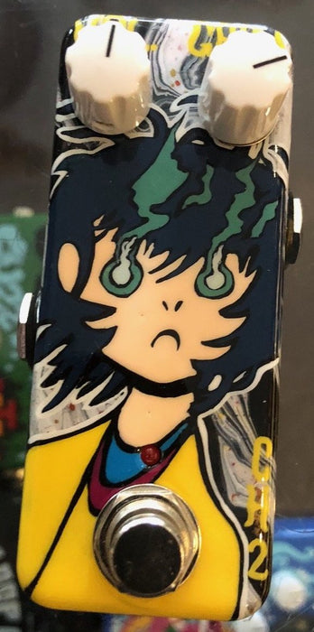 Zvex Channel 2 Boost Pedal Hand Painted NAMM 1/1 Anime