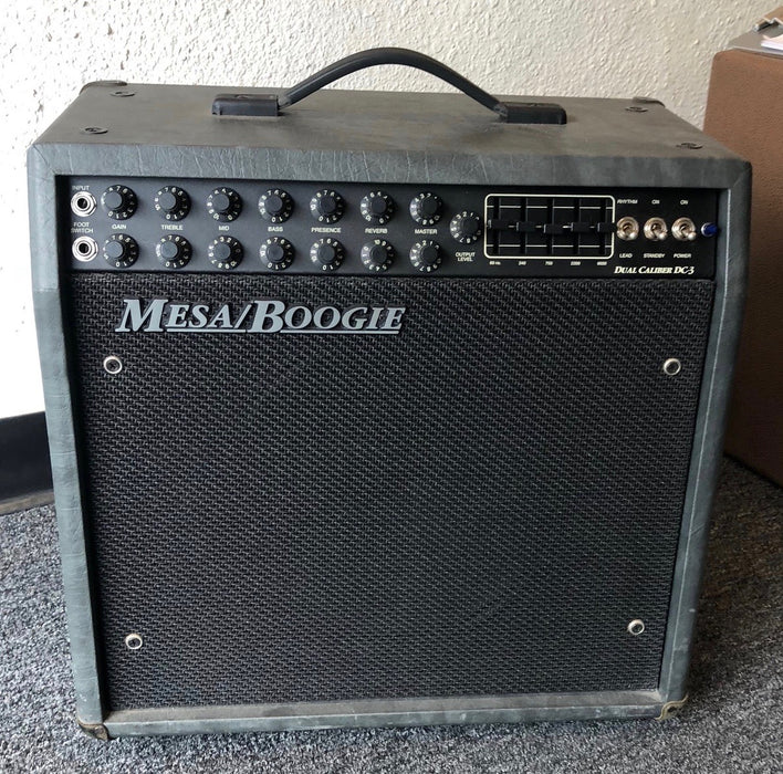 Used Mesa Boogie Dual Caliber DC-3 1x12 Tube Guitar Amplifier Combo With Cover