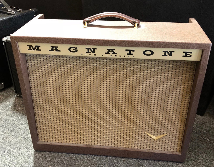 Used Magnatone Twilighter 1x12 Tube Guitar Amplifier Combo With Footswitch