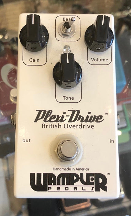 Used Wampler Plexi Drive Overdrive Guitar Effect Pedal