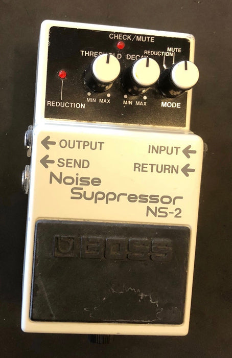 Used Boss NS-2 Noise Suppressor Guitar Effect Pedal