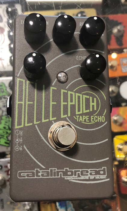 Used Catalinbread Belle Epoch Tape Echo Guitar Effect Pedal
