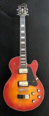 Used Hagstrom Super Swede Electric Guitar with OHSC