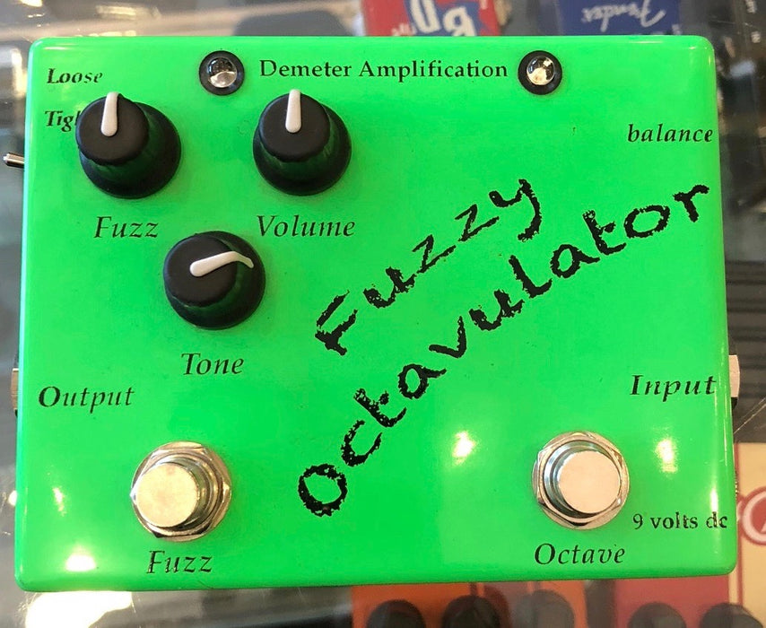 Used Demeter Fuzzy Octavulator Guitar Effect Pedal