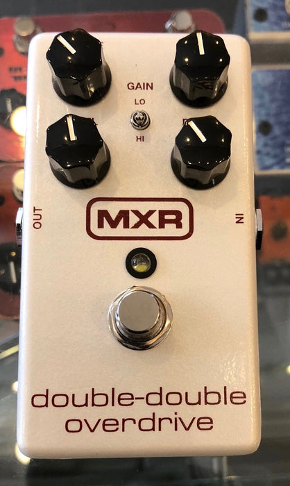 Used MXR Double-Double Drive Overdrive Guitar Effect Pedal with Box