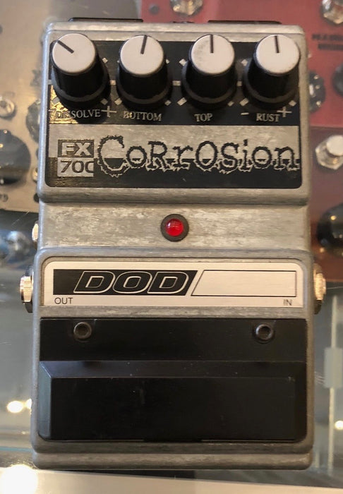Used DOD FX70C Corrosion Distortion Guitar Effect Pedal