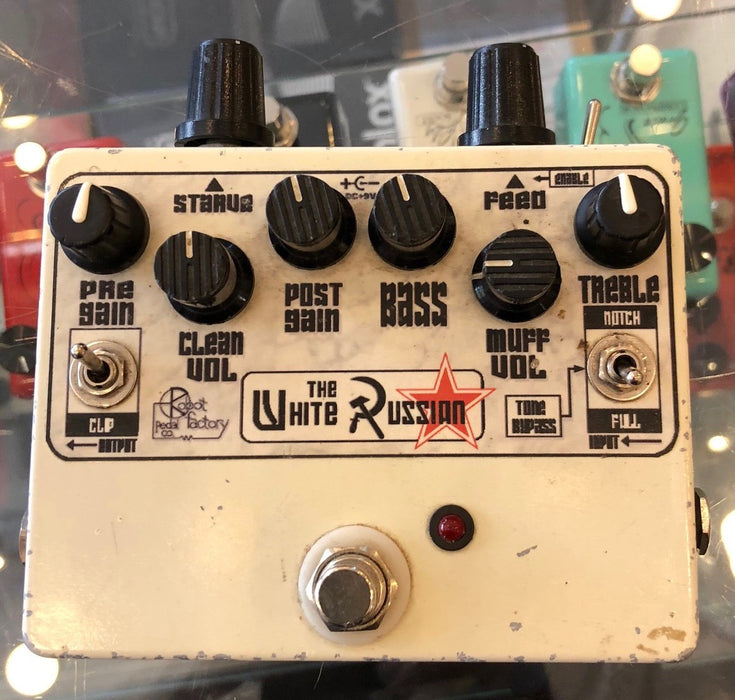 Used Robot Pedal Factory Co. White Russian Guitar Effect Pedal