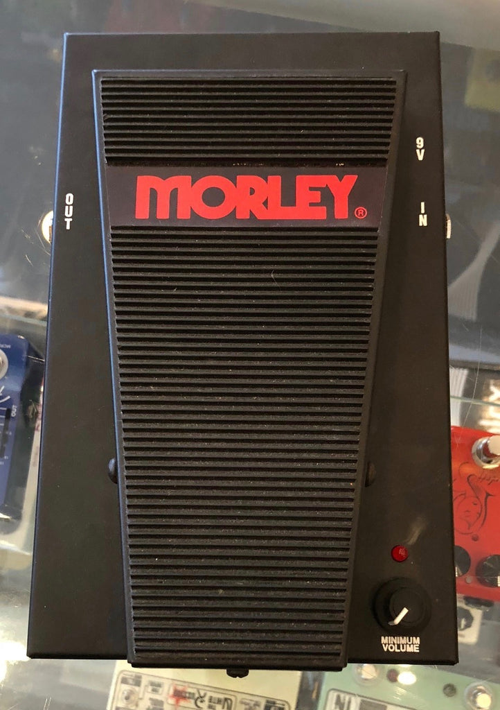 Used Morley Pro Series Volume PVO Guitar Effect Pedal