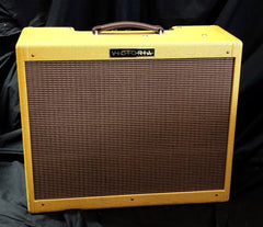 Victoria Double Deluxe 40 Watt 2x12 6V6 Tweed Tube Guitar Amplifier Demo Model
