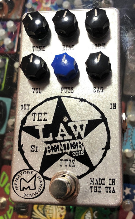 Menatone The Law Bender Silicone Fuzz Guitar Effect Pedal