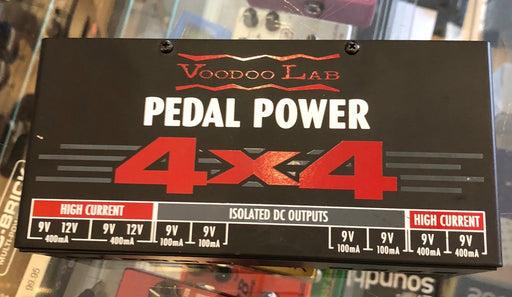 Used Voodoo Labs 4x4 Pedal Power Supply
