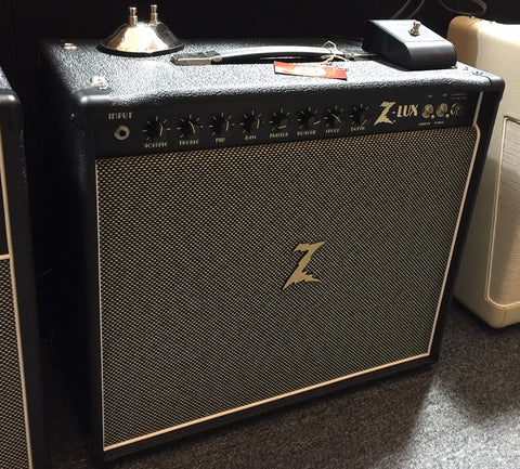 Dr Z Z-Lux 6V6 Tube Guitar 1x12 Combo Amplifier Black Salt & Pepper